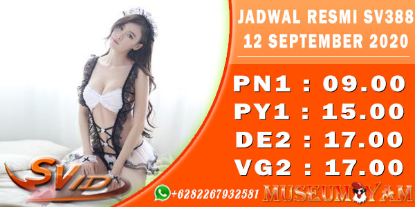 List Jadwal Sabung Ayam Indonesia 12 September 2020